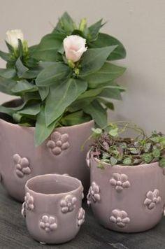 IB LAURSEN / Obal na květiny Fleur violet