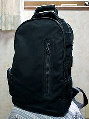 "Killspencer Special Ops Backpack. Really nice design, great material, although a bit wide and high for my 13"" needs.."