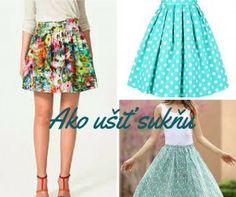Ako ušiť sukňu Skirts, Fashion, Moda, Fashion Styles, Skirt, Fashion Illustrations, Gowns, Skirt Outfits