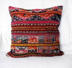 Peruvian hand woven pillow cover