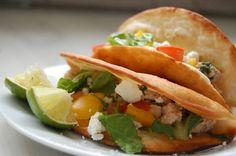 Koriander-limoen-kip taco's - Salt & Sugar
