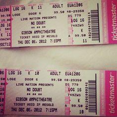 @Ruth Santacruz Ticket Stubs, Concert Tickets, Logs, Journals