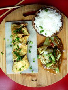 Orzechowe mapo tofu z kapustą pak choi