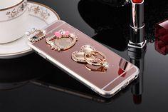Estuche Funda Espejo con Estante Hello Kitty Para iPhone 6 6S 6 Plus 7 7 Plus  #UnbrandedGeneric