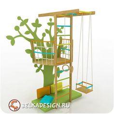 Обустраиваем детский спортивный уголок в комнате - Блог | Детский Интерьер