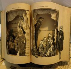 Cutout Character Novels - Altered Books by Susan Hoerth Breaths New Life into Fairy Tales (GALLERY)