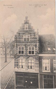 Gorinchem, Burgstraat. Huis 't Coemt al van God (Uitg.J.M. van Eck, Gorinchem 11 12555)
