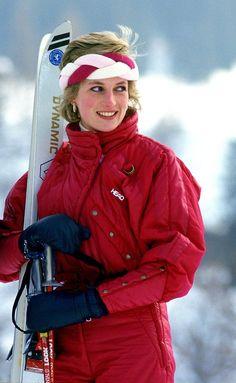 The Princess loved to ski.
