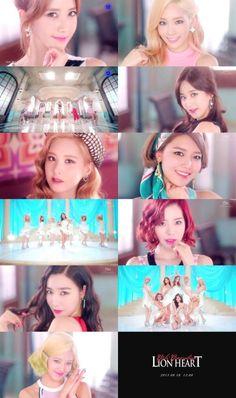 Yes yes yes yes, Lion Heart! Girls' Generation killing it!! <3 Sonyeoshidae hwaiting!