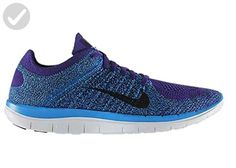 low priced 1545e d1d25 Nike 4.0 Flyknit Court Purple Black Photo Blue Shoe (10 D(M)) - Our  favorite sneakers ( Amazon Partner-Link) · Photo BlueBlue ShoesNike ...