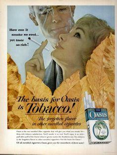 Oasis Cigarettes(1962)