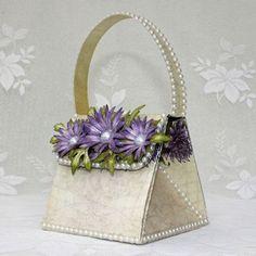 Splitcoaststampers - Wednesday Tutorial - Exploding Handbag