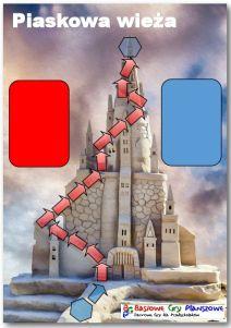 Plansza do gry Piaskowa wiezża