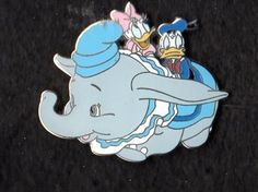 Disney Pin ~ Donald & Daisy Duck ~ WDW 35 Magical Years Mystery Tin ~ Dumbo
