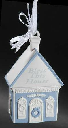 Wedgwood Ornament - Bless this House