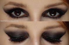Taylor Swift Bad Blood inspired makeup - winged smoky eye