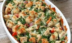 Sunn kylling i form med sursøt saus Healthy Chicken, Chicken Recipes, Superfood, Everyday Dishes, Cooking Recipes, Healthy Recipes, Brunch Recipes, Food Inspiration, Macaroni And Cheese