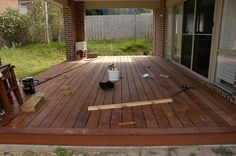 Deck Over Concrete Patio Plans