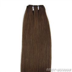 20inch Proffessional Asian Remy Weft Human Hair Extension Straight 4medium brown