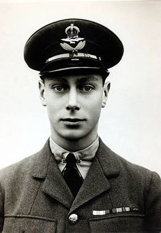 circa HRH, Prince Albert pictured in RAF uniform, Prince Albert. Albert King, Prince Albert, Prince Charles, Young Queen Elizabeth, Queen Mary, George Vi, English Royal Family, Duke Of York, Royal Life