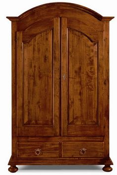 Bioecoshop 2 Door Wardrobe Made of Organic Environmentally-Friendly Solid Poplar IL SIR Dimensions 125 x 61 cm Height Made in Italy Wooden Wardrobe, 2 Door Wardrobe, Diy House Projects, Armoire, Shabby Chic, Italy, Doors, Architecture, Interior