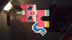 Unikitty from the Lego Movie perler beads by momosgifts