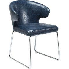 Chair Atomic Blue - KARE Design