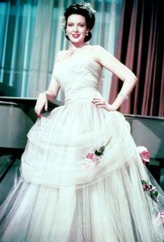Linda Darnell Color | LINDA DARNELL - 1940's Movie Page in Color - 19th Century Costume ...