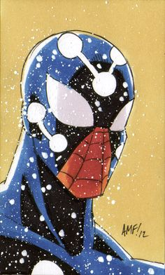 1 a day. Marvel Man, Marvel Comics, Man Thing Marvel, Marvel Heroes, Anime Comics, Amazing Spiderman, Spiderman Kunst, Black Spiderman, Spiderman Spider