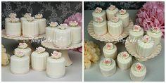 Roses and Ruffles Wedding Cake