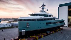 Damen SeaXplorer 62 Yacht Can Run on Electric Power for a Whole Month – Robb Report Yacht Design, Ios Design, Graphic Design, Expedition Yachts, Explorer Yacht, User Experience Design, Customer Experience, Going Off The Grid, Yacht Builders