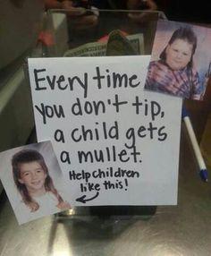 Tip me, dammit!