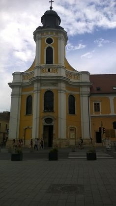 One of the many beautiful churches in Cluj
