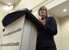 Carla Qualtrough, Minister of Sport and Persons with Disabilities, says removing accessibility barriers will be crucial to tackling long-standing low jobless rates among the country's disabled population. Paralympic Athletes, Disabled People, Big Challenge, Workplace, Transportation, Challenges, Canada, Change