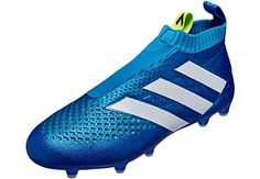Shock Blue adidas Ace 16+ Purecontrol GTI. The nicest shoes ever! www.soccerpro.com