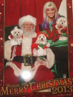 Santa ollie millie sophie