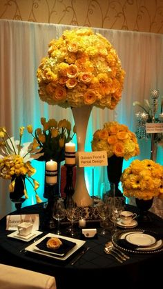 Fall in love with this extravagant centerpiece