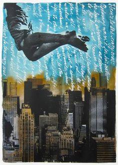 Original Cities Painting by Pia Lilenthal Original Art, Original Paintings, Stay Wild, City Style, Conceptual Art, Medium Art, Buy Art, Paper Art, Screen Printing