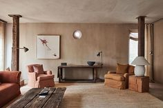 TriBeCa Penthouse in Greenwich Hotel designed by Axel Vervoordt and Tatsuro Miki