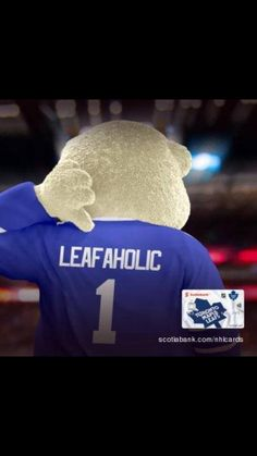 Leafaholic Hockey Baby, Ice Hockey, Maple Leafs Hockey, Toronto Maple Leafs, Montreal Canadiens, Sports Teams, Nhl, Ontario, Blue And White