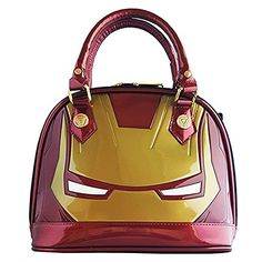 Women's Top-Handle Handbags - Loungefly Marvel Iron Man Mini Dome Multi *** You can get additional details at the image link.