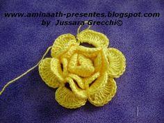 Aminaath Presentes: PAP flor botão