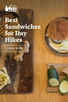 Granola bars and GORP are staples of every hike, but there are times when you need a little extra fuel to make it up a hill. Here are eight inventive sandwiches for hiking you'll be stoked to have in your pack. Hiking Food, Backpacking Food, Camping Meals, Sandwiches, Healthy Snacks, Healthy Recipes, Good Food, Yummy Food, Campfire Food