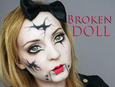 Image result for broken doll costume