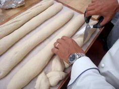 Epi Shaping French Bread