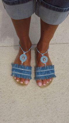 Handmade barefoot by ByCreaSan