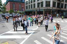 Re-Designing Streets for Pedestrians vs. Car: Chicago Implements Diagonal Pedestrian Crossings