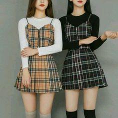 Korean Fashion Styles, Korean Girl Fashion, Ulzzang Fashion, Kpop Fashion, Kawaii Fashion, Fall Fashion, Fashion Women, Pastel Fashion, Hippie Fashion