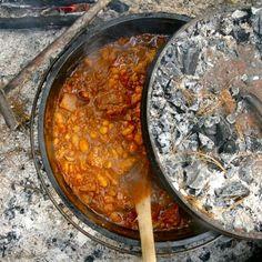 Campfire Chili in a Dutch Oven Recipe