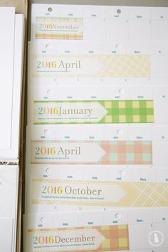 Free Printable Planner | The Handmade Home